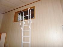 白浜町T様邸ロフトはしご取付